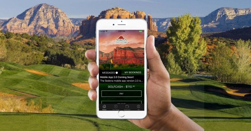 Sedona Golf Cash Ad